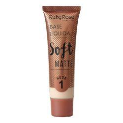Base Líquida Soft Matte Ruby Rose - Nude