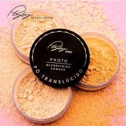 Pó translúcido Microfinish Powder Playboy - Nova Embalagem