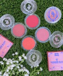 Blush Cintilante Compacto Linha Bruna Tavares - BT Shimmer Blush