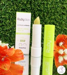Balm Labial Ruby Skin Proteção Urbana Ruby Rose